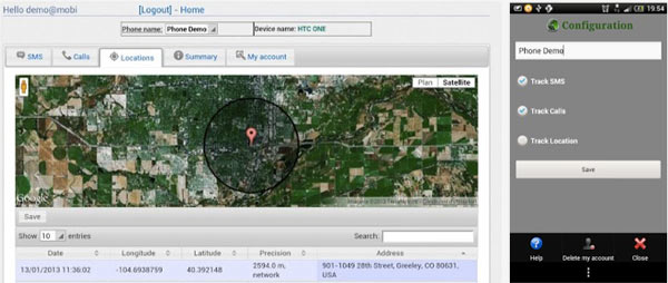 cell phone tracker locator